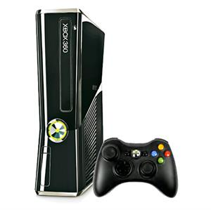 Microsoft Xbox 360 Slim 500GB Game Console with 100 Games On HDD